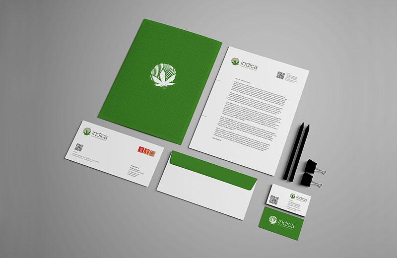 indica corporate identity