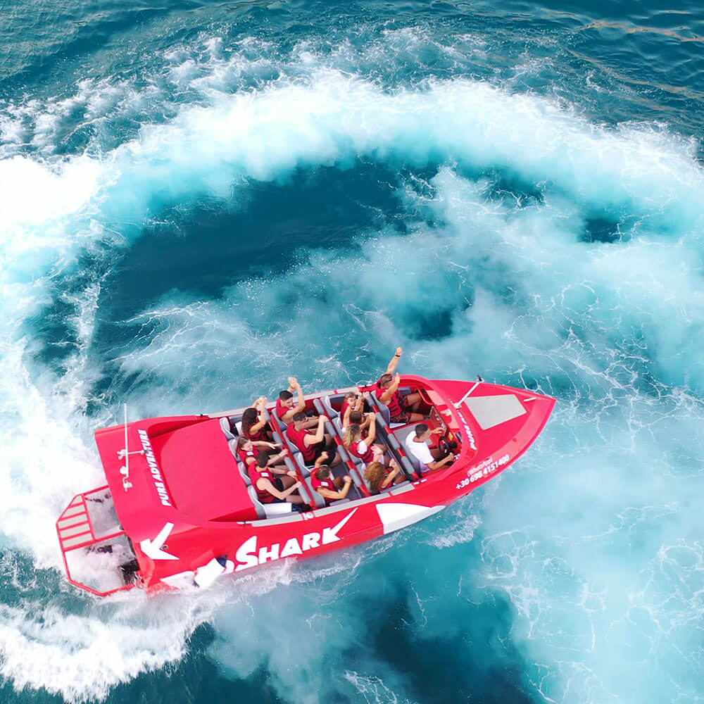 Red Shark Jet Boat Experience II | Action Video